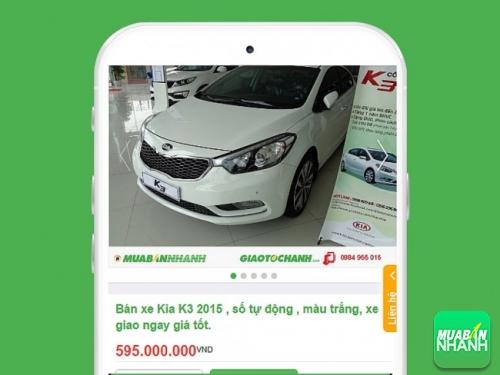 Kia K3 kiểu dáng sang trọng bán tại Mua Bán Nhanh