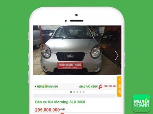 Xe ô tô giá rẻ tại Mua bán nhanh