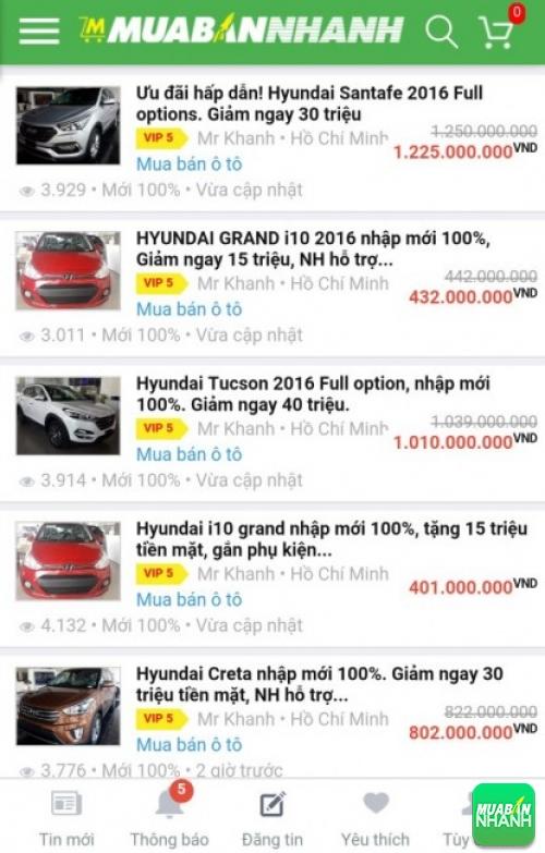 Xe ô tô Hyundai