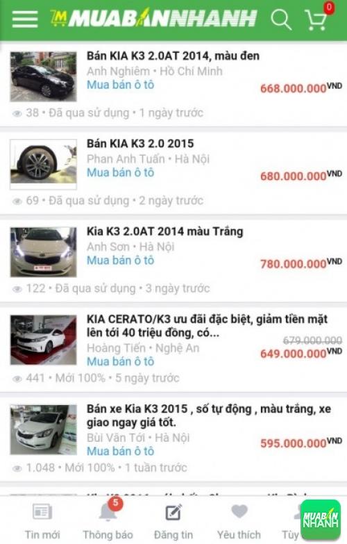 Xe Kia K3