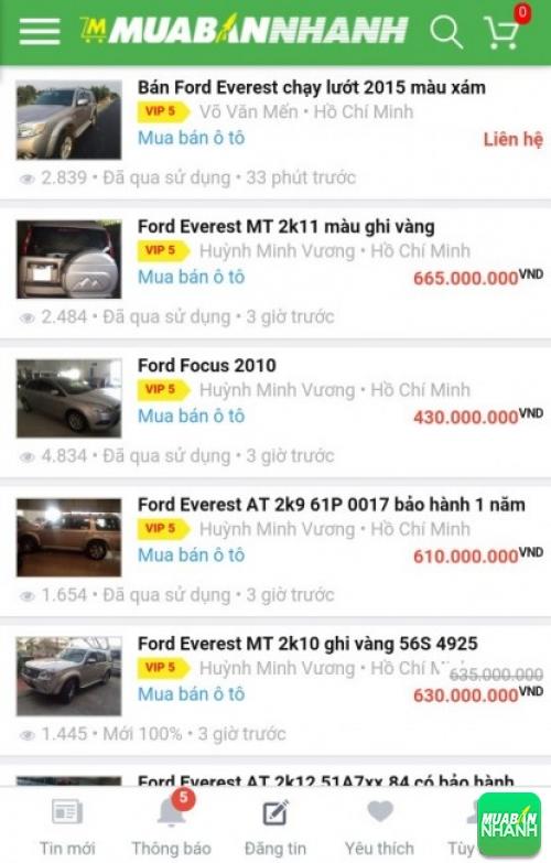 Xe ô tô Ford Everest