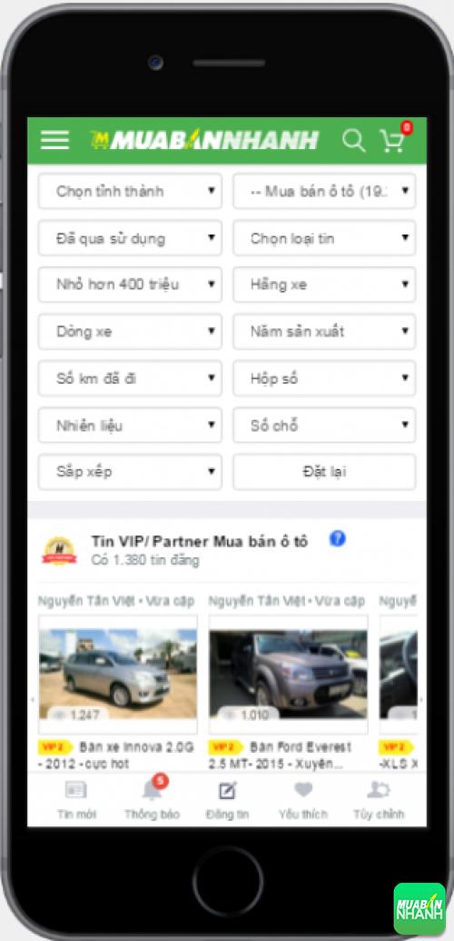 Tìm mua xe ôtô cũ dưới 300 triệu hiệu quả trên Mạng xã hội MuaBanNhanh