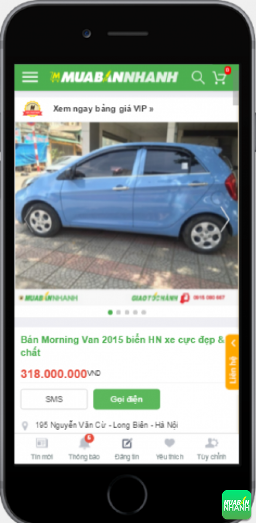 Kia Morrning cũ giá rẻ - sản phẩm đang bán trên mạng xã hội MuaBanNhanh