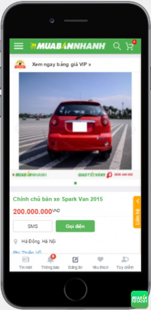 Chevrolet Spark Van cũ giá rẻ - sản phẩm đang bán trên mạng xã hội MuaBanNhanh