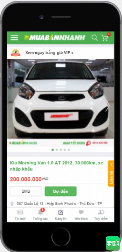 Kia Morning cũ giá rẻ - sản phẩm đang bán trên mạng xã hội MuaBanNhanh