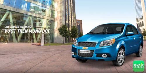 Sedan cỡ nhỏ Chevrolet Aveo: trang bị an toàn tối ưu
