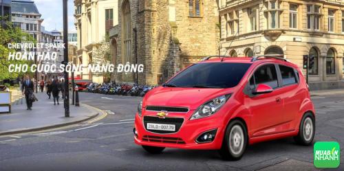 Chevrolet Spark an toàn vượt trội - dòng xe đô thị cỡ nhỏ đáng tiền!