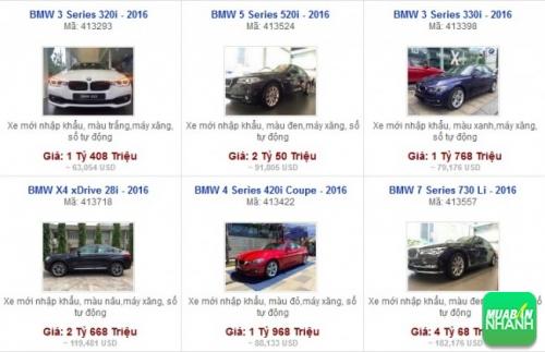 Các dòng xe đang bán tại Đại lý BMW Euro Auto Phú Nhuận TP HCM