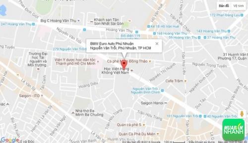 Bản đồ đường đi đến Đại lý BMW Euro Auto Phú Nhuận TP HCM