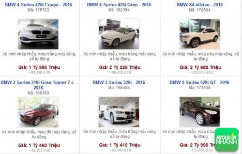 Các dòng xe đang bán tại Đại lý Euro Auto Phú Mỹ Hưng TP HCM