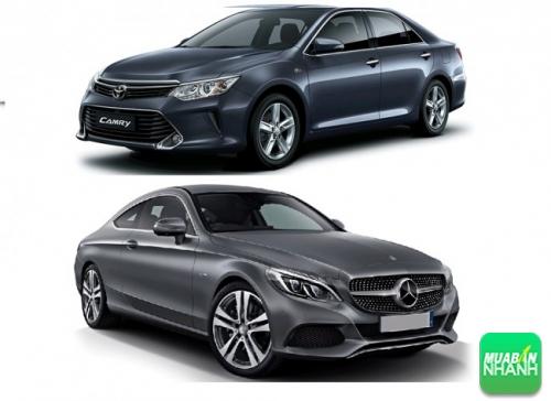 Mercedes C200 và Toyota Camry
