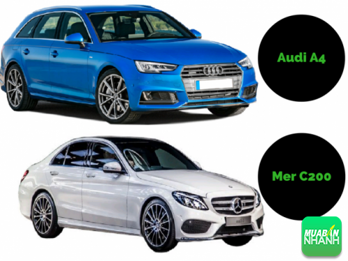 Audi A4 và Mecedes C200