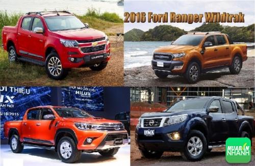 Mua xe bán tải chọn Ford Ranger, Chevrolet Colorado hay Nissan Navara NP300 và Toyota Hilux?