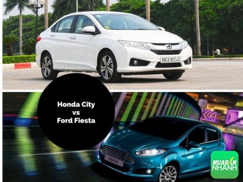 Ngang tài ngang sức chọn Honda City hay Ford Fiesta?