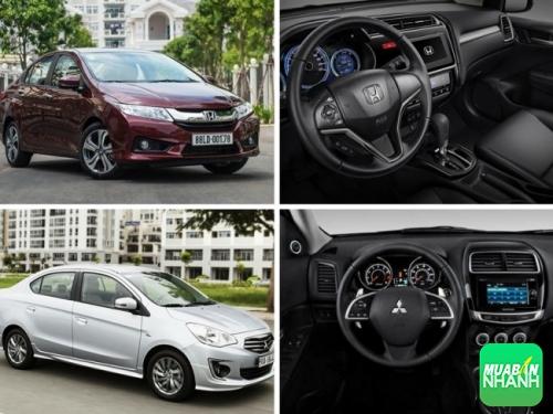 Phân khúc sedan cỡ nhỏ chọn mua Mitsubishi Attrage hay Honda City