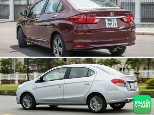 Ưu điểm của Honda City 2016 và Mitsubishi Attrage 2016