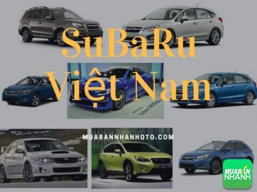 hãng xe SuBaRu Việt Nam