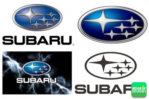 Logo xe ô tô Subaru