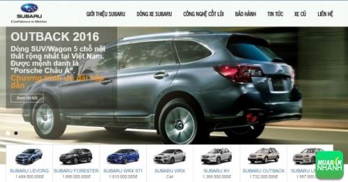 Tiêu chuẩn đại lý Subaru tại Việt Nam