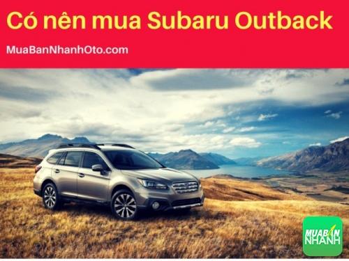 Có nên mua Subaru Outback