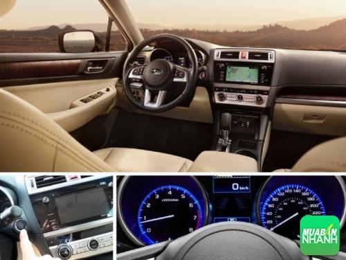 Đánh giá nội thất xe Subaru Outback 2016