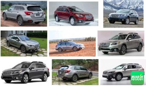 Thiết kế Subaru Outback 2016