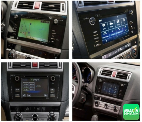 Đánh giá nội thất Subaru Outback
