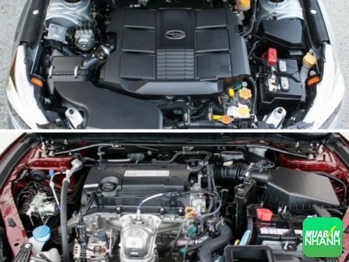 so sánh động cơ Honda Accord và Subaru Legacy