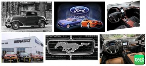 Xe ô tô Ford quá trình hình thành thương hiệu