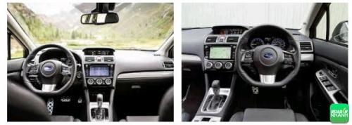 Nội thất Subaru Levorg