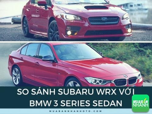 So sánh Subaru WRX với BMW 3 Series Sedan