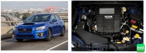 vận hành Subaru WRX