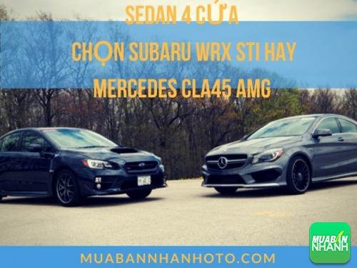 So sánh chi tiết Subaru WRX STi và Mercedes CLA45 AMG trong phân khúc sedan 4 cửa