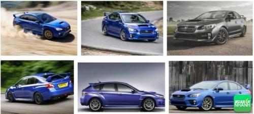 Ngoại thất Subaru WRX STi