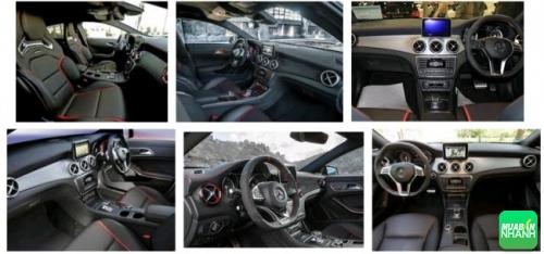 Nội thất Mercedes CLA45 AMG