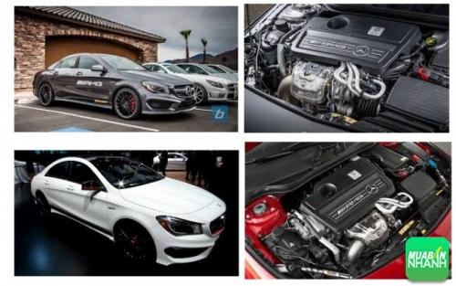 Động cơ của Mercedes CLA45 AMG