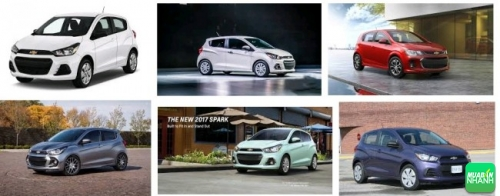 Thiết kế Chevrolet Spark 2017