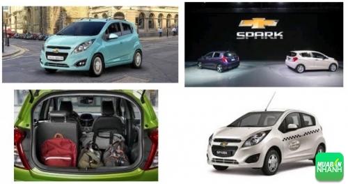 Xe ôtô Chevrolet Spark 2017 giá bao nhiêu?