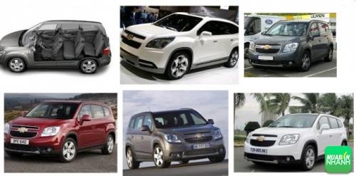 Ngoại thất của Chevrolet Orlando