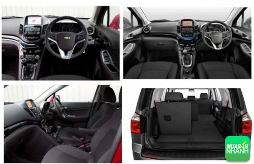Nội thất của Chevrolet Orlando