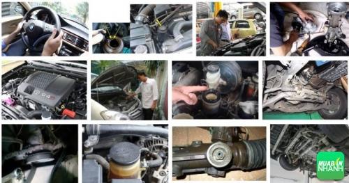 Một số hư hỏng thường gặp trên hệ thống lái xe ô tô