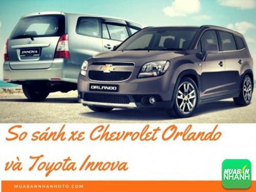So sánh xe Chevrolet Orlando và Toyota Innova