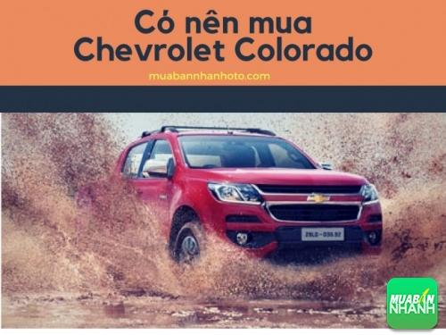 Có nên mua Chevrolet Colorado