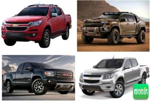 Đánh giá phiên bản mới xe bán tải Chevrolet Colorado 2017 ngoại hình hấp dẫn