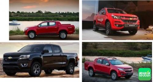 Đánh giá ngoại thất Chevrolet Colorado