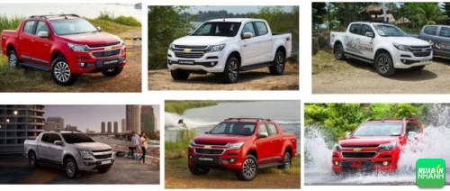 Chevrolet Colorado 2017 giá từ 619 triệu tại Việt Nam