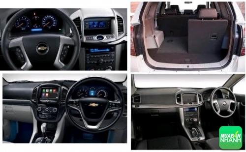 Chevrolet Captiva Revv nội thất rộng rãi, bổ sung nhiều công nghệ
