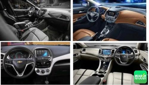 Nội thất Chevrolet Captiva Revv