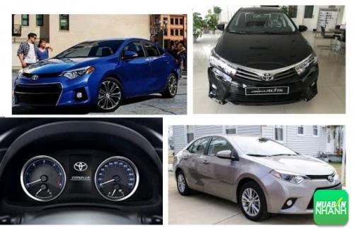 Giá Xe Toyota Altis 2017 - thế hệ mới nhiều đột phá