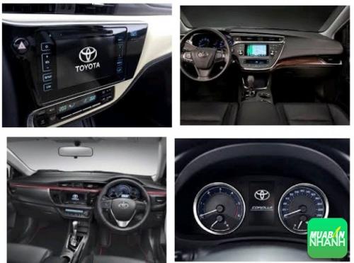 Toyota Altis 2017 thay đổi thiết kế nhẹ, thêm tính năng